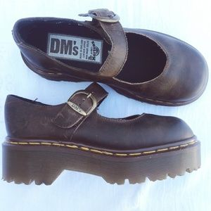 Dr. Martens Chunky Mary Janes Vintage Platform MIE
